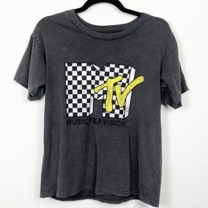 MTV Tee Gray Small Forever 21